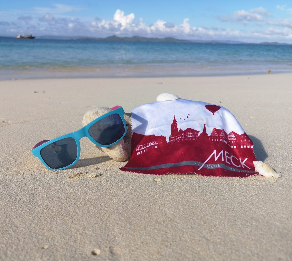 Sonnenbrille für den Strand